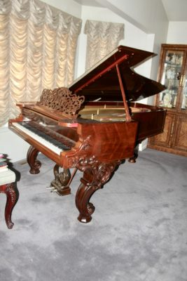Steinway Grand Piano Sold by EstateSalesByOlga.com